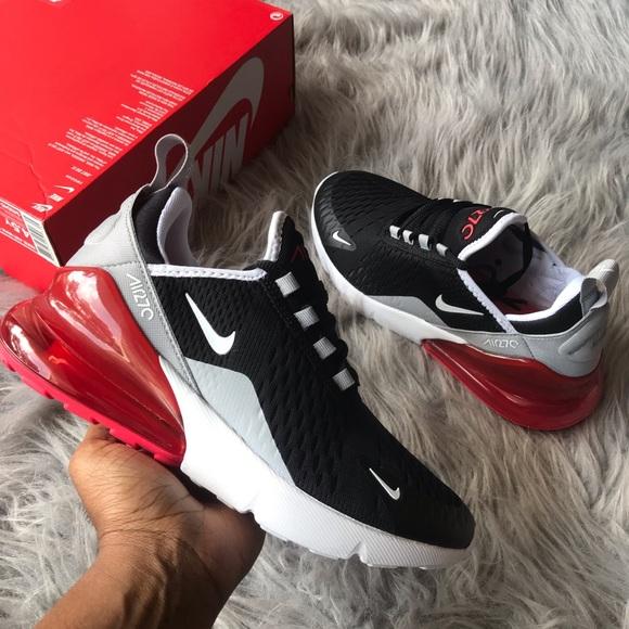 Nike Air Max 270 Kinder Schuhe BlackWhite Ember Glow Größe